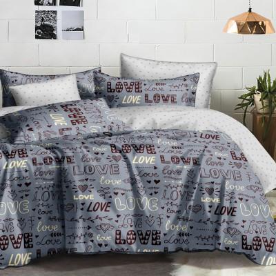 Полуторное постельное белье САТИН 100% хлопок 100