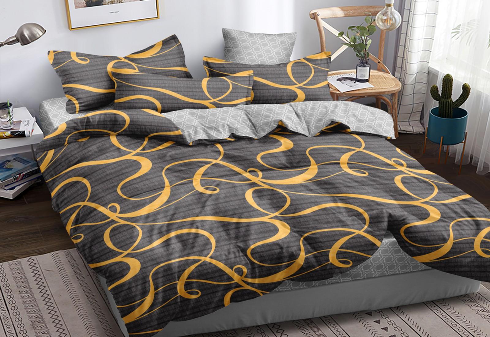 Полуторное постельное белье САТИН 100% хлопок 101