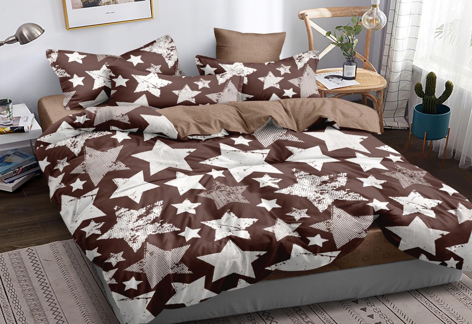 Двуспальное постельное белье САТИН 100% хлопок 102