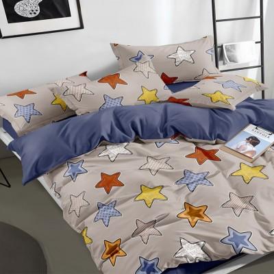 Полуторное постельное белье САТИН 100% хлопок 1064