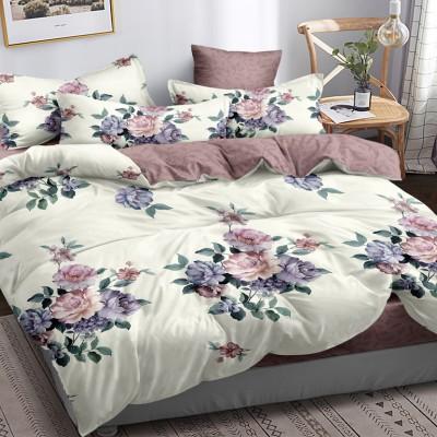 Полуторное постельное белье САТИН 100% хлопок 1076