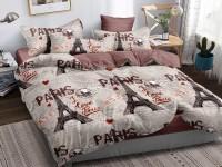 Двуспальное постельное белье САТИН 100% хлопок 1077