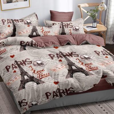 Полуторное постельное белье САТИН 100% хлопок 1077