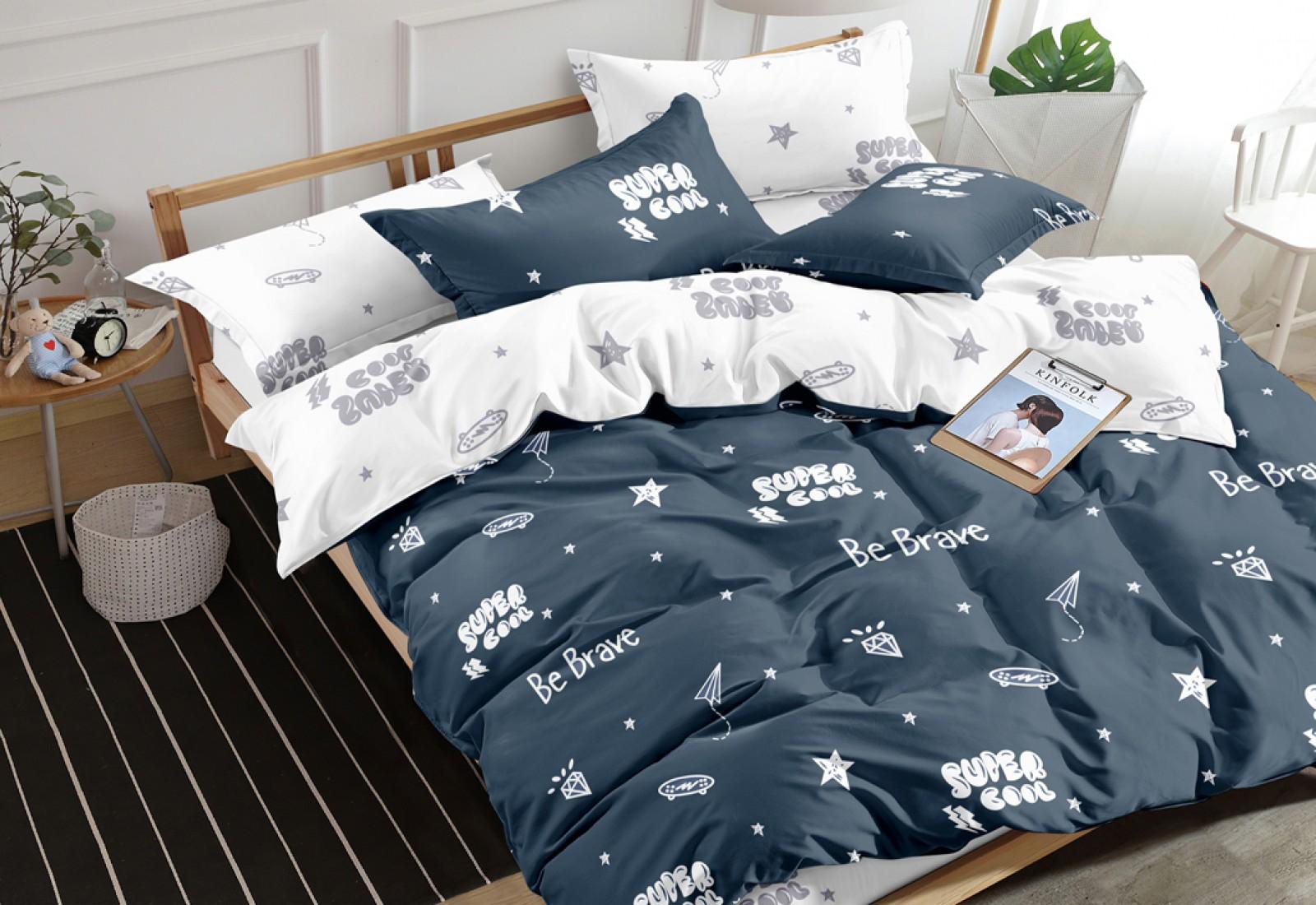 Двуспальное постельное белье САТИН 100% хлопок 1092