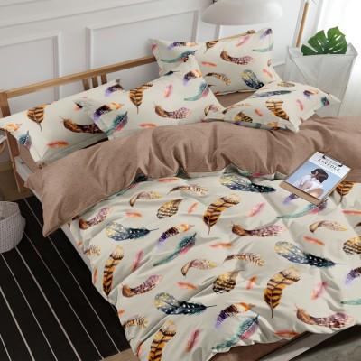 Полуторное постельное белье САТИН 100% хлопок 1094