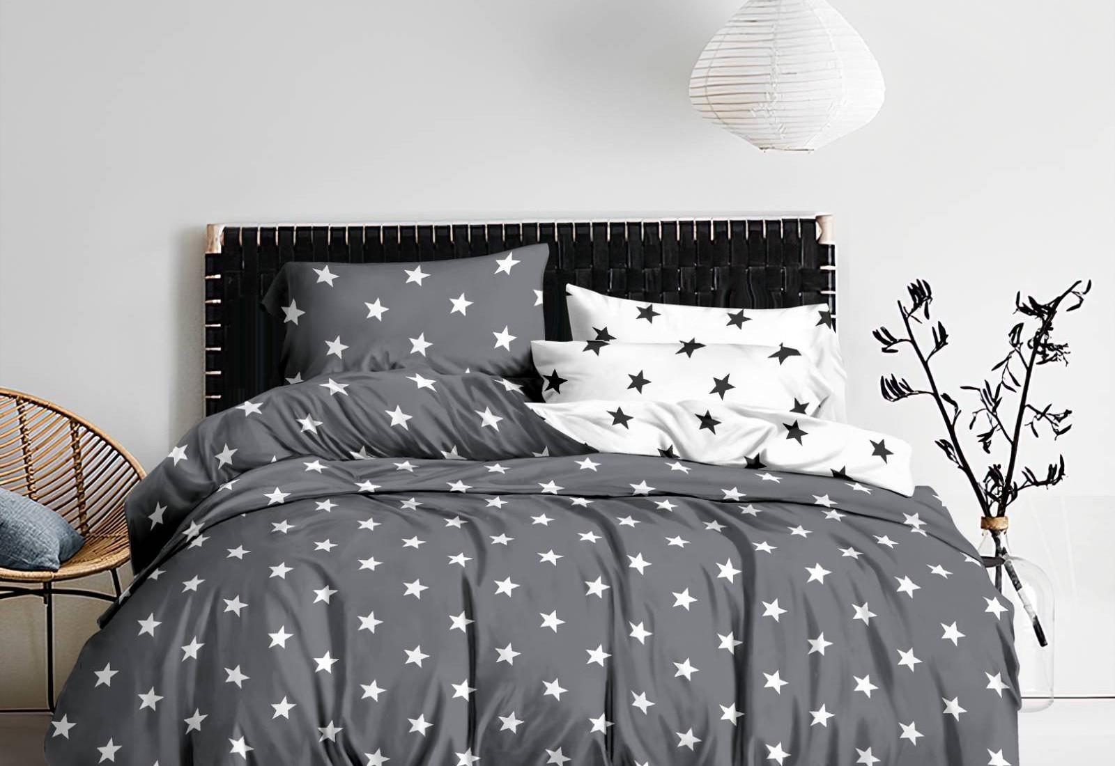 Полуторное постельное белье САТИН 100% хлопок 1223