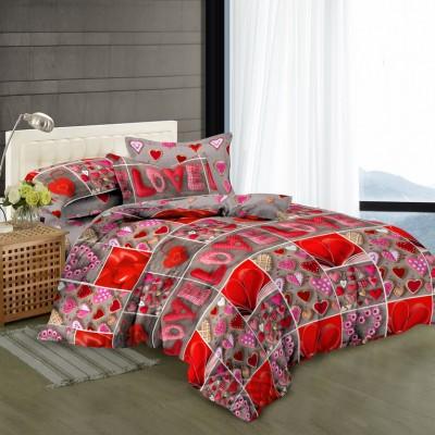 Двуспальное постельное белье САТИН 100% хлопок 324