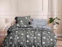Семейное постельное белье САТИН двухстороннее, 4 наволочки /100% хлопок 223278